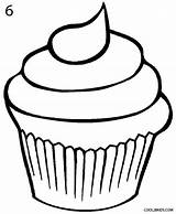 Cupcake Draw Cake Drawing Cupcakes Coloring Pages Drawings Step Food Sketch Wedding Icing Cakes Cool2bkids Painting Cars sketch template