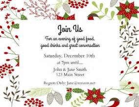 make your own holiday invitations free printables hearth vine