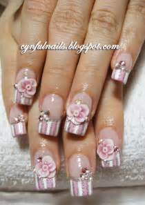 Cynful nails pink acrylic