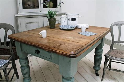 Small farm table, benches made from reclaimed wood