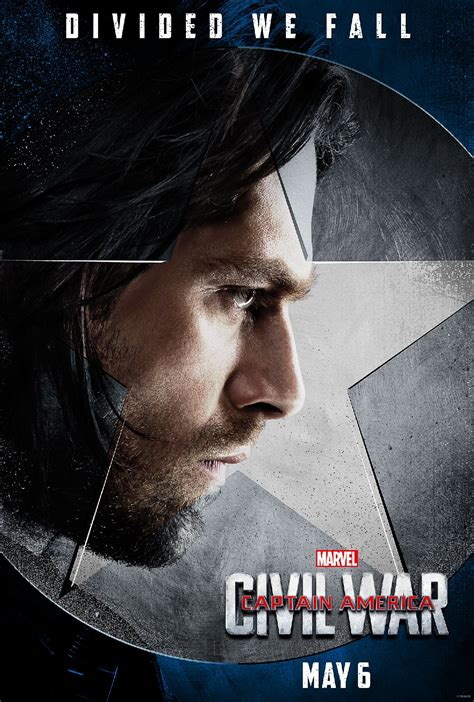 Captain America Civil War Character Posters Midroad