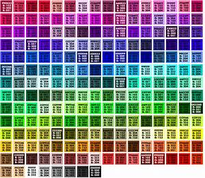 Teach Art Tech  Pantone And Hexadecimal Numbers