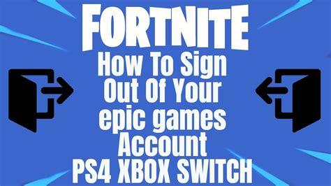fortnite   sign    epic games account