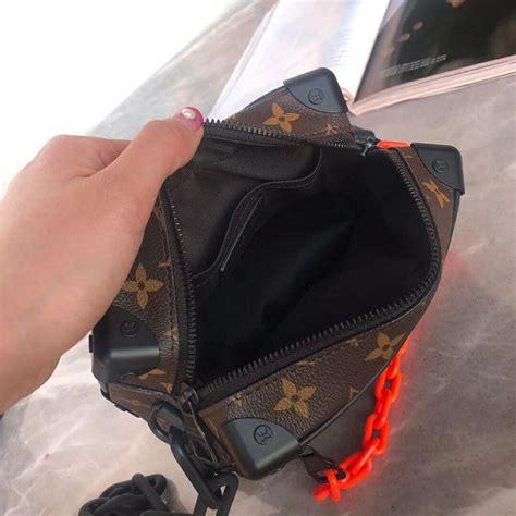 louis vuitton mini soft trunk lv shoulder bag allover monogram print lv bag  china