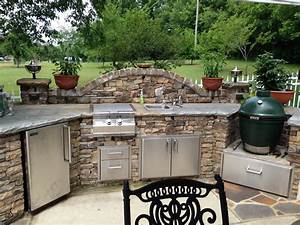 How to Build Outdoor Kitchen with Simple Designs ...