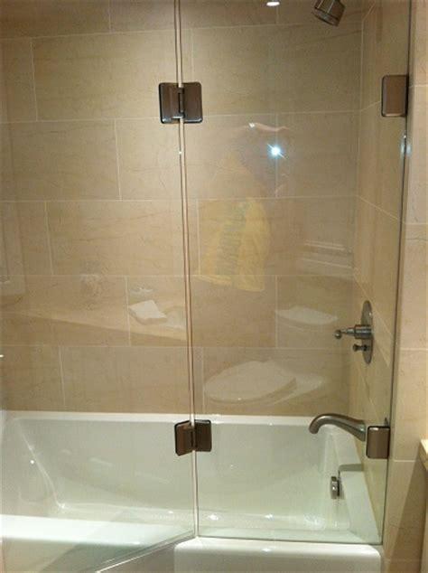 half glass shower door for bathtub bathtub enclosures shower doors toronto
