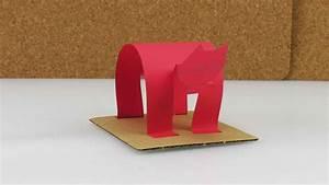 Papier Selber Machen : katze basteln aus papier selber machen lustig und einfach ~ Lizthompson.info Haus und Dekorationen