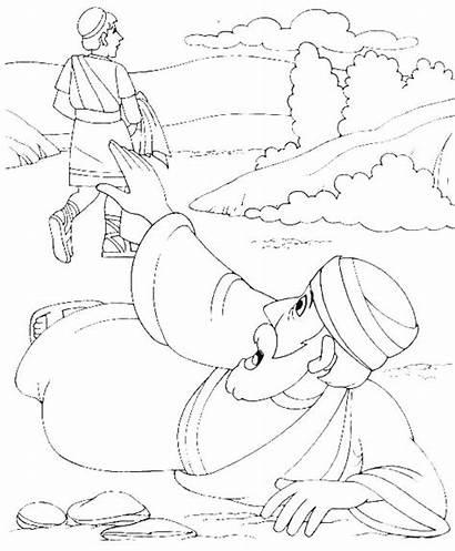 Samaritan Coloring Pages Bible Story