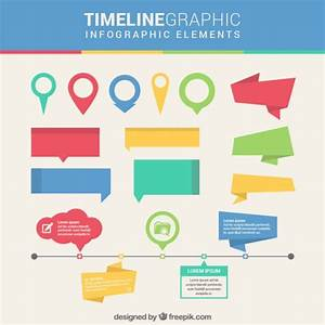 Timeline infographic elements Vector | Free Download