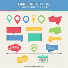 Timeline Infographic Elements Vector  Free Download