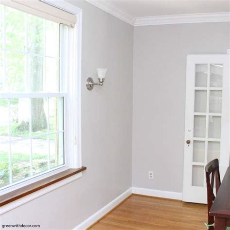 painted dining room agreeable gray green  decor