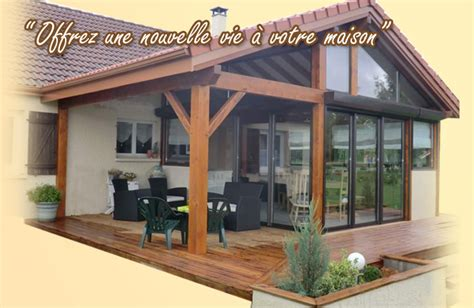 veranda en bois veranda bois bourg en bresse veranda