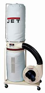 Jet DC-1100VX-5M Dust Collector 1 5HP 1PH 115/230-Volt 5