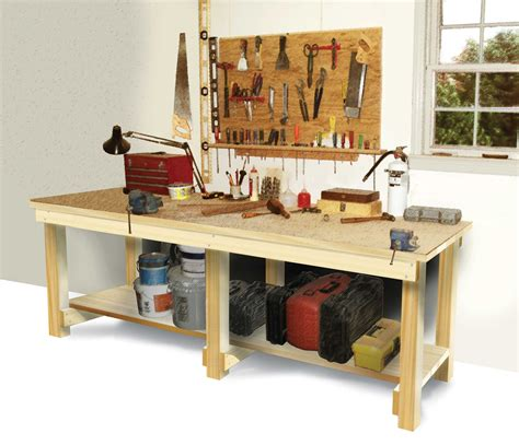 How To Build A Workbench  Diy  Workbench Plans, Easy