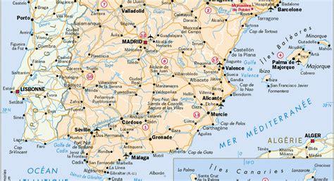 Carte Autoroute Espagne Portugal by Carte Routi 232 Re Espagne Et Portugal Arts Et Voyages