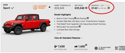 2020 jeep gladiator lease 2020 jeep gladiator can be surprisingly to lease