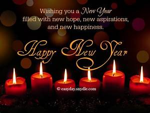 Best New Year Wishes - Easyday