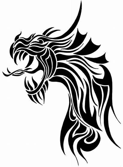 Designs Tribal Dragon Tattoos Dragons Symbol Tattoo