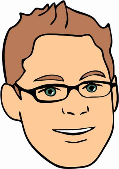 Glasses Clipart Face Avatar Clipground Male Edit