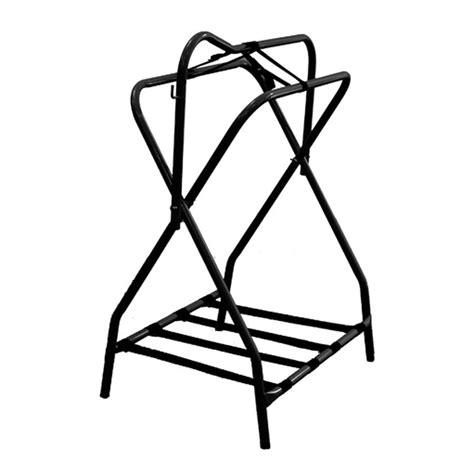 folding saddle rack partrade equi sky folding saddle rack