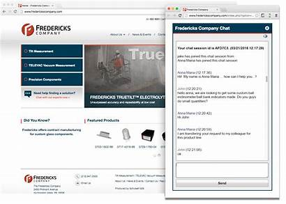Fredericks Company Recommendations Interactive Customers Guides Selection