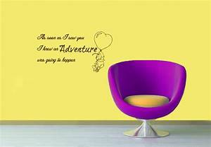 vinyl decals winnie the pooh quote adventure happen home With kitchen cabinets lowes with winnie the pooh quotes wall art