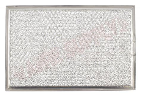 wgf ge microwave range hood aluminum grease filter        amre supply