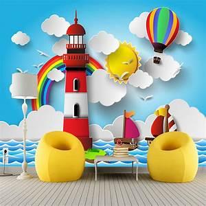 Regenbogen Tapete Kinderzimmer : online kaufen gro handel sonne wandbild aus china sonne wandbild gro h ndler ~ Sanjose-hotels-ca.com Haus und Dekorationen