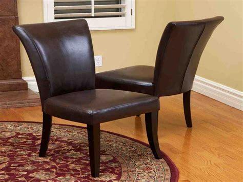 Brown Leather Dining Room Chairs  Decor Ideasdecor Ideas