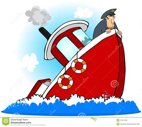 Sinking Boat Icon by Titanic Clipart Boat Sink Pencil And In Color Titanic