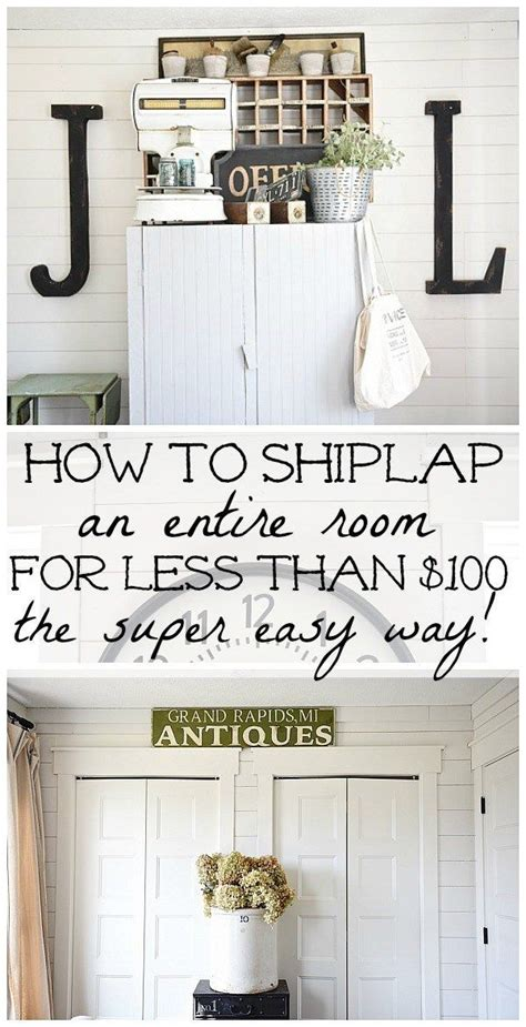 Easy Shiplap by Best 25 Diy Shiplap Walls Ideas On Shiplap