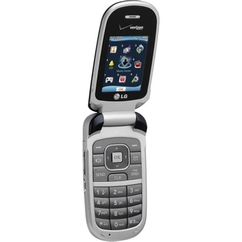 lg vx8360 flip basic cell phone for at t w and