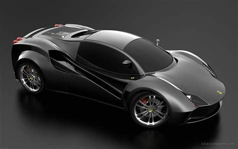 Ferrari Black Concept Wallpaper Hd Car Wallpapers