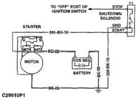 Yanmar Fuel Shut Solenoid Wiring Diagram by Fuel Shutoff Solenoid Wiring Diagram