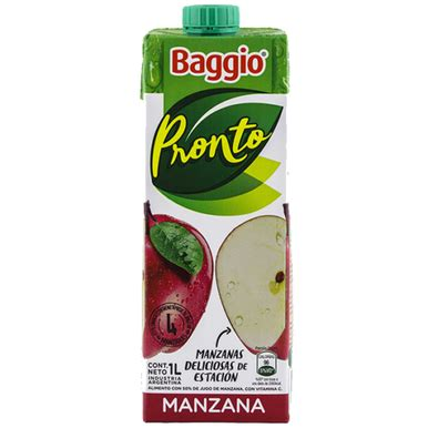 foto de Jugo Baggio Pronto Sabor Manzana Delicious Apple Juice