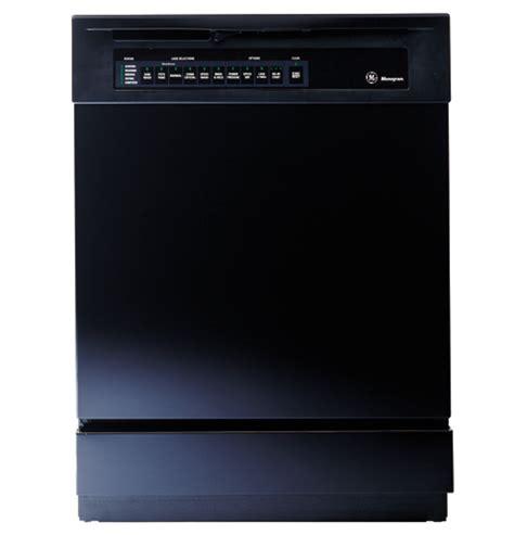 zbddbb ge monogram american design black dishwasher  permatuf interior monogram
