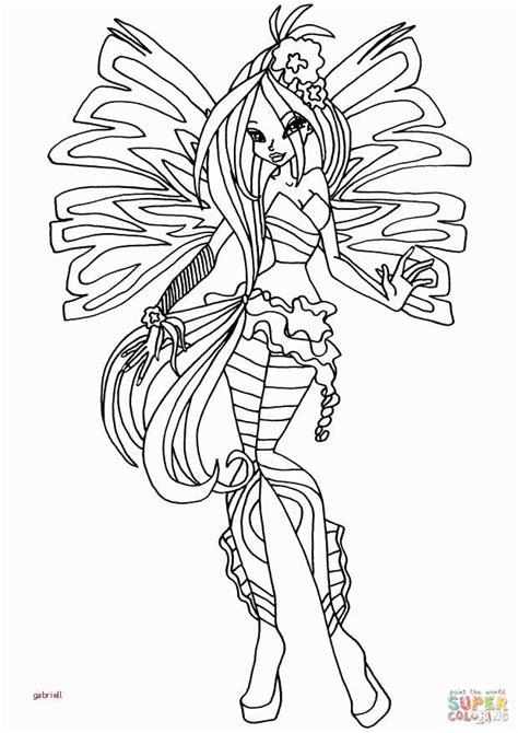 disegni da colorare winx disegni da colorare e stare winx winx flora bloomix