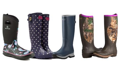 Fight The Elements With These Barn Boots