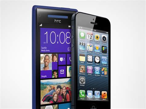 windows phone vs iphone iphone 5 vs htc windows phone 8x spec shootout