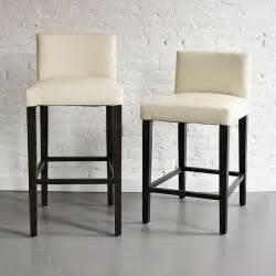 blue bar stools kitchen furniture porter leather bar stool counter stool modern bar stools and counter stools by west elm