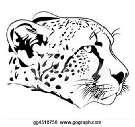 9 Unique Photograph Of Cheetah Outline Printable Best 1000 Images About Clip For Cakes On