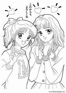 Of Sam Fun Dibujos De Chicas Anime Para Pintar