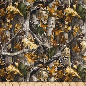 Realtree Flannel Oak Camouflage - Discount Designer Fabric