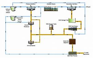 Process Flow Diagram Of The Dlsmb Wwtp  Johnson County  Ks
