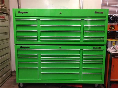 snap  tool box classic  price reduced garage