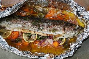 Alufolie Im Backofen Fisch Im Backofen Mit Alufolie Und Wenigen