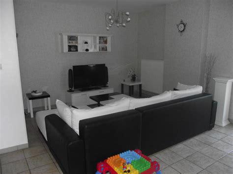 idee deco noir et blanc salon d 233 coration salon moderne noir et blanc