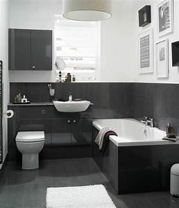 Petite Salle De Bain Design : salle de bain tendance 50 exemples audacieux en noir ~ Dailycaller-alerts.com Idées de Décoration