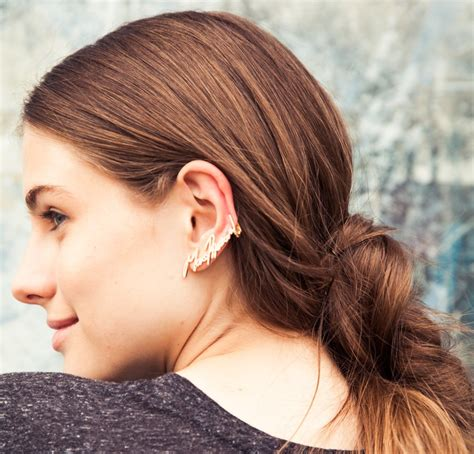 To Hairstyles by 3 Hairstyles To Show This Season S Statement Earrings