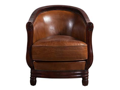 Leather Single Armchair